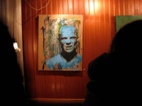 painting of flea!